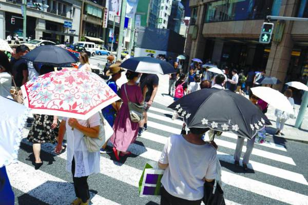 Il dramma del Giappone, ondata di calore, 65 morti in 7 giorni